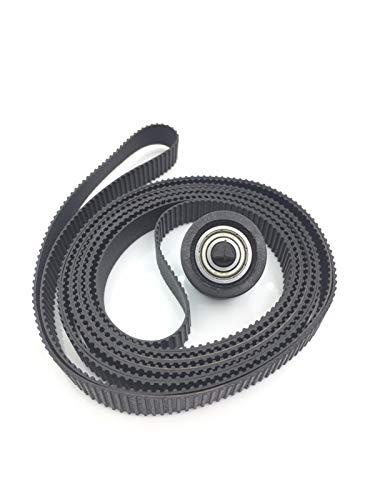 YYCH Soporte de la Impresora Cinturón con polea 24'24 Pulgadas A1, Adecuada for HP DesignJet 500 500PS 510510PS 800800PS Plus 4500820 MFP 4020 T620 Tinta de Impresora