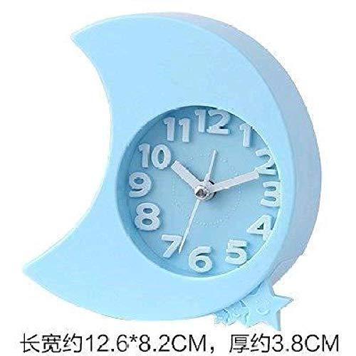 hlyhly digitale wekker Digitale klok Kamer klok slaapzaal slaapkamer kleine mini digitale wekker desktop