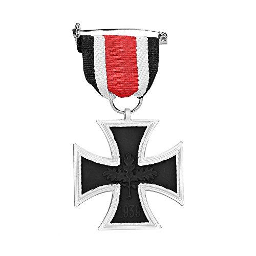 Orden 2.Weltkrieg Eisernes Kreuz 2.Klasse 1939 mit Band - 57er Version - EK2 - TOP Sammler Anfertigung