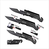 Best Rescue Knives - Personalized Knives Engraved Custom Pocket Rescue Knife, Folding Review