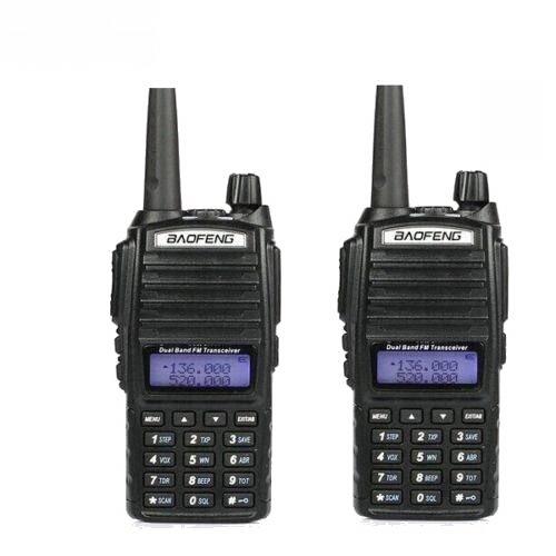 BaoFeng Radio de mano UV-82 UHF/VHF Walkie Talkie FM Amateur Radio Pack de 2