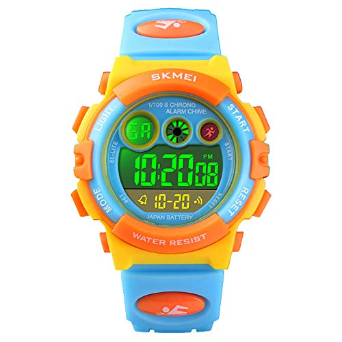 Watch for Kids 4-12, Kids Digital Sports Waterproof Watches with Alarm Stopwatch, Children Outdoor Analog Electronic Young Teen Watches Birthday Presents Gifts for Age 4-12 Year Old Boys Girls