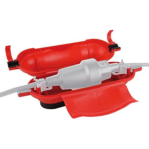 REV 0502175555 Kabelsafe, Kabelbox für Kupplung wasserdicht u. zugentlastend, rot