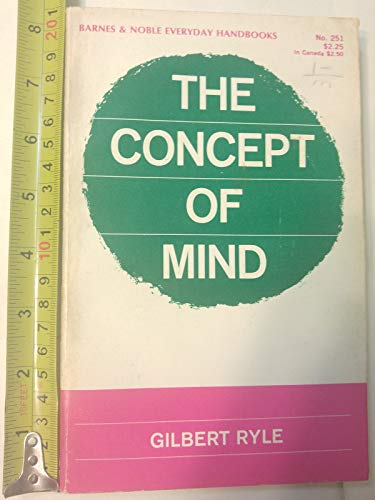 The Concept of Mind (Senior Series.) by Gilbert Ryle (2-May-1905) Paperback