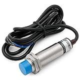 Heschen interruptor de sensor de proximidad capacitivo LJC18A3-B-J/EZ detector 1-10mm 90-250VAC 400mA normalmente abierto (NO) 2 hilos