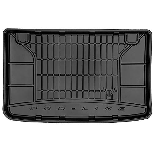 DBS Tapis de Coffre Auto - sur Mesure - Bac de Coffre pour Voiture - Rebords Surélevés - Caoutchouc Haute qualité - Antidérapant - Simple d'entretien - 1766578