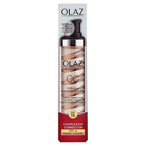 Olaz Regenerist Skin Tone Corrector CC Creme SPF15, 90 g