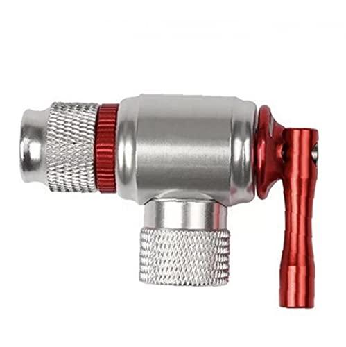 Liadance Bicycle Tyre Pump Bike Tool Co2 Inflator Quick & Easy Mini Hand Pump for Road & Mountain Bikes