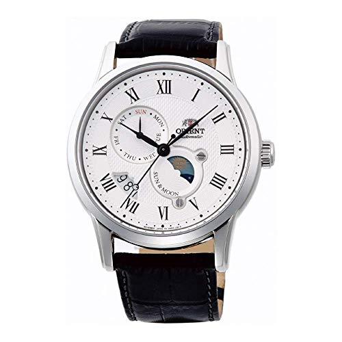 Orient Herren Analog Automatik Uhr mit Leder Armband FAK00002S0