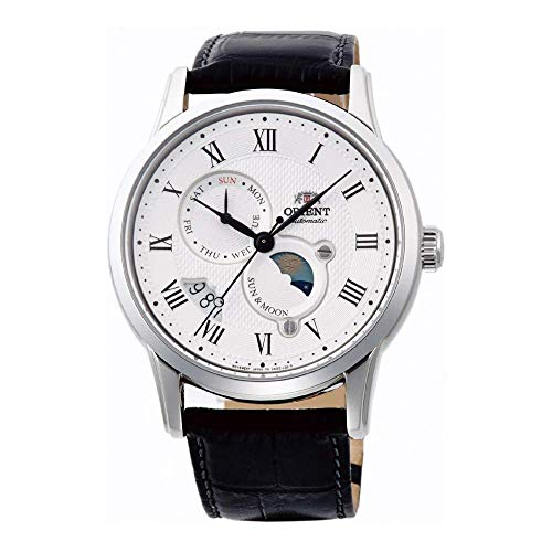 Orient Mens Analogue Automatic Watch with Leather Strap FAK00002S0