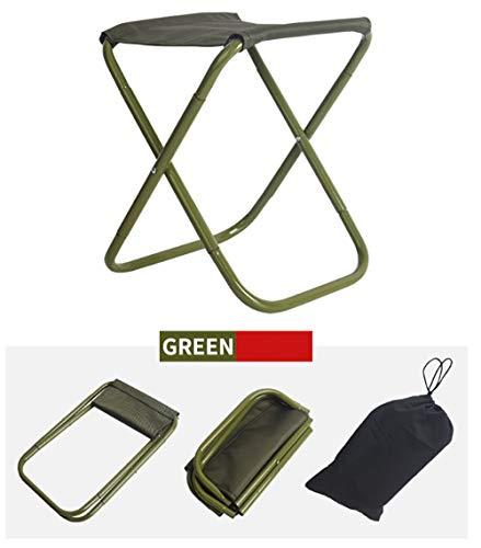 Benrise Mini Draagbare vouwstoel, Buiten Kleine vouwstoel voor Camping, BBQ, Vissen, Wandelen, Strand, Tuinstoel Lichtgewicht, Ultra-Licht Aluminium Draagbare vouwstoel
