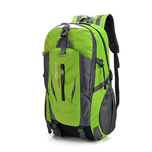 FREEDOL wasserdichte Wanderrucksack, Multifunktions Trekking Rucksack, Scratch-Resistant Pack Können Seien Sie Bereit Für Radfahren, Bergsteigen, Camping Gebraucht,Grün