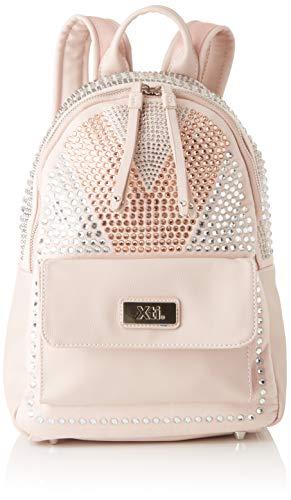 XTI 86069, Bolso mochila para Mujer, Rosa (Nude), 24x29x12 cm (W x H x L)
