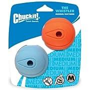 Chuckit Whistler Ball Medium (2 Pack)