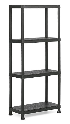 Keter Plastic Shelf 'Plus 60/4', 1 piece, Black, 9503000 0022