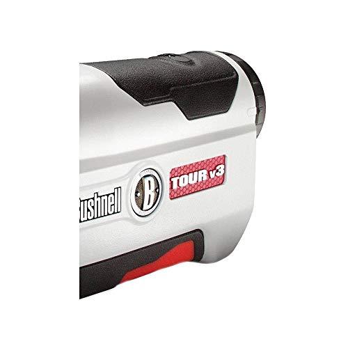Bushnell Tour V3 Jolt Laser RangeFinder with Pinseeker Technology White