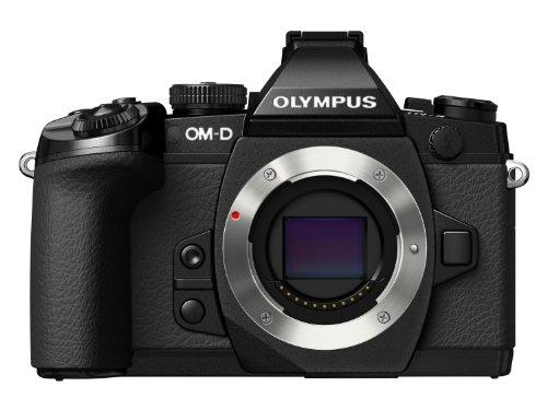 "Olympus OM-D E-M1 Fotocamera Mirrorless 16 MP, solo corpo, Display LCD TFT 3"", HDR, Nero"