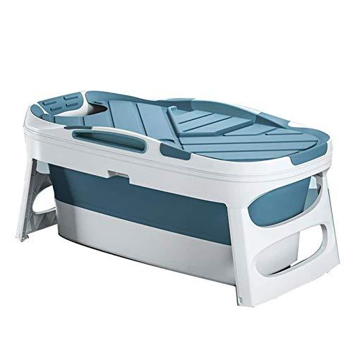 Adesign Infantil Bañera de baño Plegable Cubo de plástico Blando Bañera Bañera de hidromasaje Cubo de baño los niños del hogar Cuenca Natación (Size : 121cm)