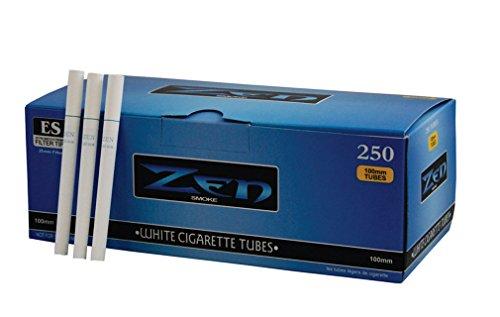 Zen-Box von 250 extra langen Filtrationsrohren, 100 mm, weiß