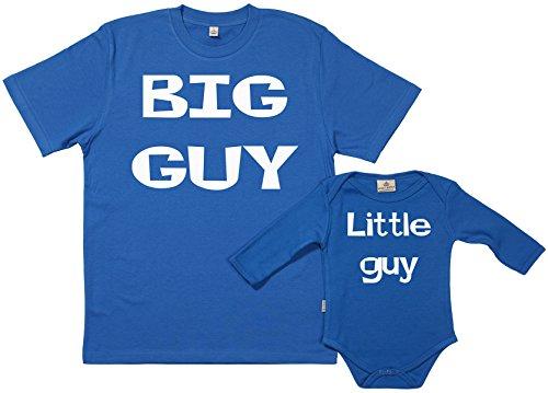 Spoilt Rotten SR - dans Une boîte Cadeau - Big Guy Little Guy - dans Une boîte Cadeau, Bleu, M & 6-12 Mois