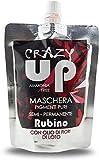 Crazy Up Maschera Colorante Senza Ammoniaca Semipermanente per Capelli - Rubino - 200 ml