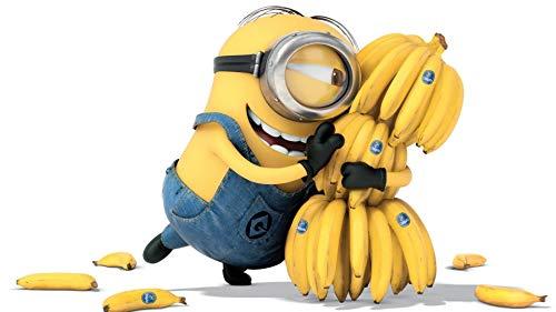 SweetBuys Puzzle 1000 Piezas Adultos, Minions Banana Madera Premium Puzzle Adultos, Niños Adolescentes Familia