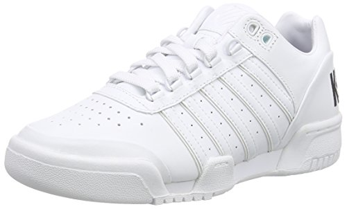 K-Swiss Damen Gstaad Big Logo Sneaker, Weiß (White/Black 102), 40