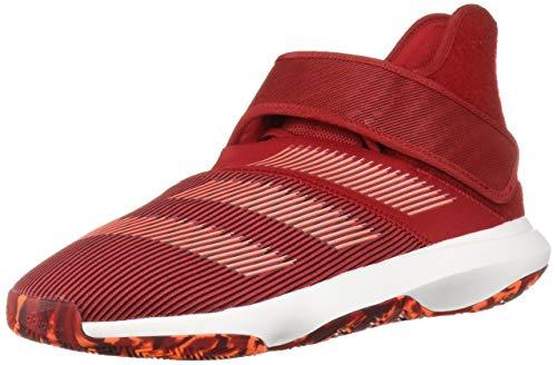 adidas Herren Harden B/E 3 Basketballschuh, Rot (Scarlet/Solar Orange/Schwarz), 43.5