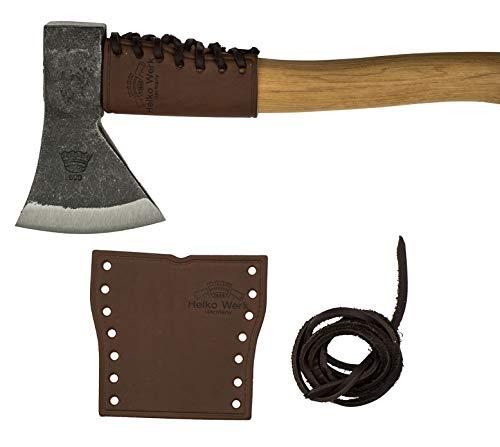 1844 Helko Werk Germany Leather Handle Guard - Hatchet Collar for Hatchets - Hatchet Cover and and Hatchet Handle Protector Hatchet Collar #8634