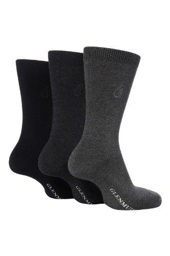 3 paar Bambus Top-Qualität Socken von Glenmuir in Blau Gr. 39-45