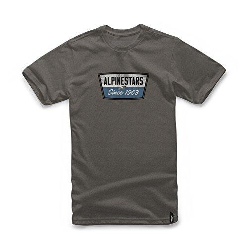 Alpinestars Battery Thé T-Shirt, Charcoal Heather, M
