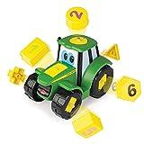 John Deere - Tractor Juega y Aprende Formas y Números (Bizak 30696654) , color/modelo surtido