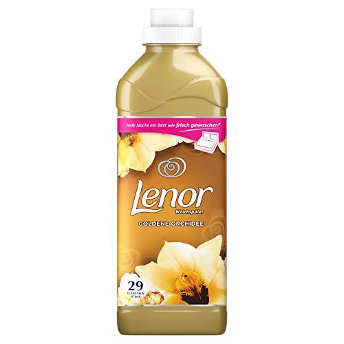 Lenor Weichspüler Goldene Orchidee, 870 ml– 29Waschladungen