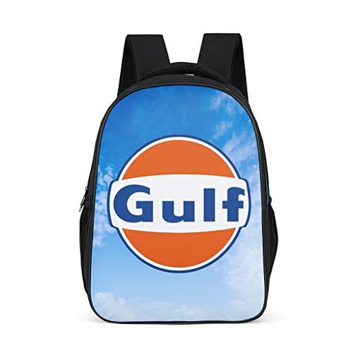 O5KFD&8 Üei Gulf - Mochila para niño, Grande, Color Naranja Gris Gris Talla única