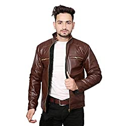 Life Trading Hot Released Faux Leather Jacket for Mens and Boys