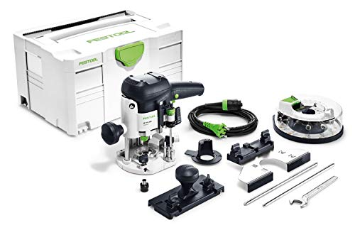 FESTOOL Oberfräse OF 1010 EBQ-Plus + Box-OF-S 8/10x HW im neuen Systainer T-LOC