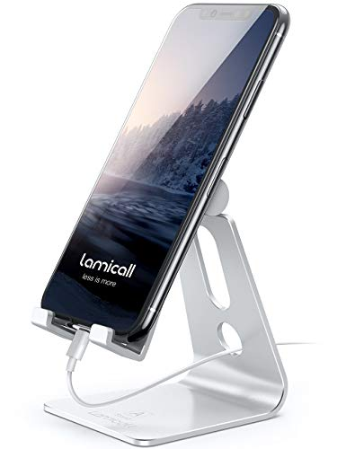 Adjustable Cell Phone Stand, Lamicall...