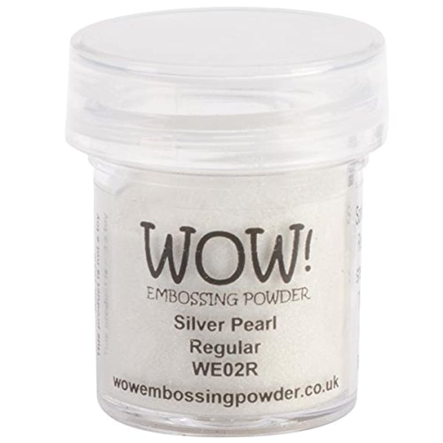 Wow Embossing Powder WOW-WE02R, 15ml, Silver Pearl