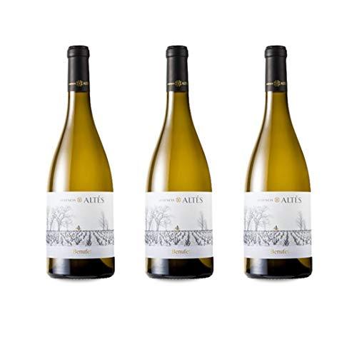Herència Altés Benufet Vino Blanco - 3 botellas x 750ml - total: 2250 ml