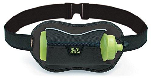Amphipod Running Full Tilt AirStretch Velocity Bottle Hydration waistpack Carrier Black