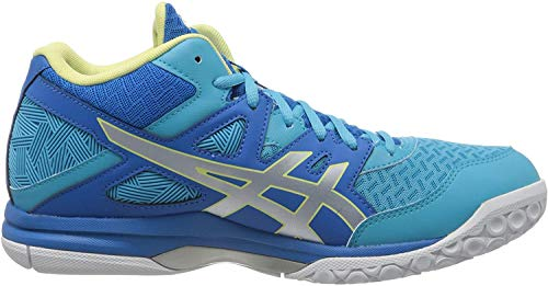 ASICS Womens 1072A037-401_39 Volleyball Shoes, Blue