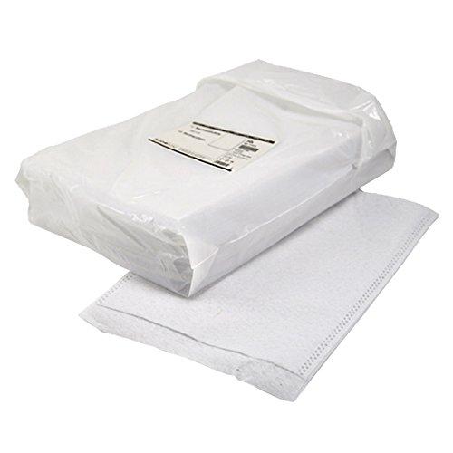 500 Stück Ultra-Soft Einmal Waschhandschuhe Einmal-Waschlappen weiß Einweg Waschlappen