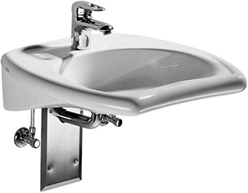 Keramag Waschbecken Vitalis 221555, 55x55cm weiß(Alpin) ohne Überlauf 221555000