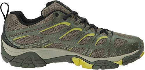 Merrell Men's Moab Edge Hiking Shoe, Dusty Olive, 9 M US
