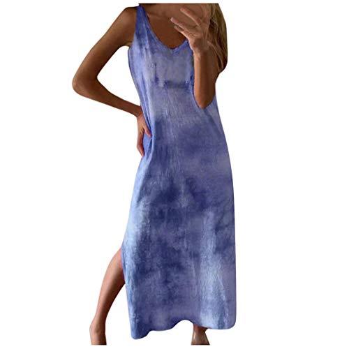Mädchen Unterkleider Für Damen Blazerkleid Damen Maxikleid Schwarz Brautkleider Hochzeitskleider 50 Jahre Kleider Damen Kleid Damen Sexy Enge Kleider Kleider Lang(Blau,M)