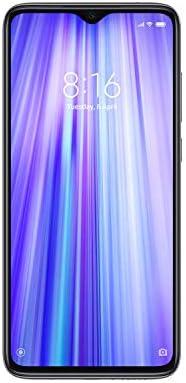 "Xiaomi Redmi Note 8 Pro 64GB 6GB 6.53"" Dot Notch HDR Display - Factory Unlocked Smartphone, International Version, No Warranty - Halo White"