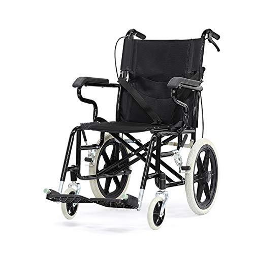 XMXWQ Ultra Lichtgewicht Handleiding Rolstoel Ergonomisch Ontwerp Vouwen Draagbare Rolstoel Oudere/Gehandicapten Scooter Reisstoel