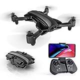 ANAN Drone con Camara 1080P HD, Plegable Dron, Duración Batería 16 Minutos, Señalando Vuelo, Seguimiento Inteligente, Se Puede Utilizar con Gafas Realidad Virtual