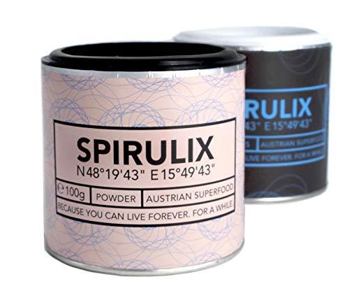SPIRULIX Spirulina-Pulver & Flakes Paket – 100% aus Österreich – Premium Spirulina-Algen mit...