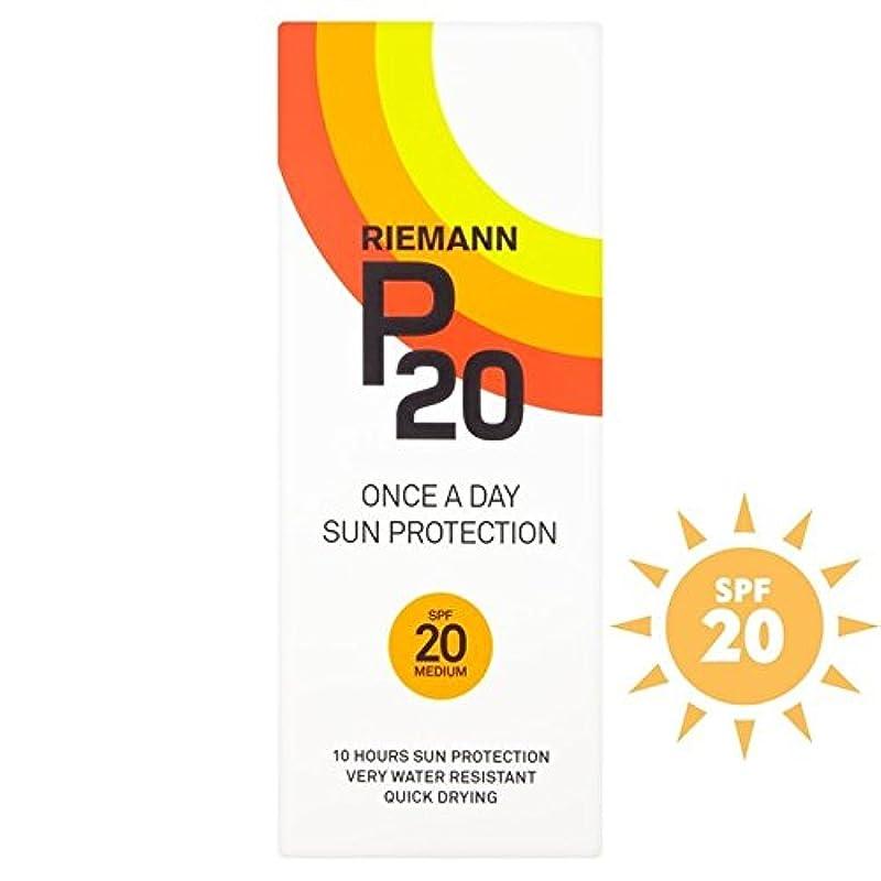 複雑な民間退化するリーマン20 20 1日/ 10時間の保護200ミリリットル x4 - Riemann P20 SPF20 1 Day/10 Hour Protection 200ml (Pack of 4) [並行輸入品]